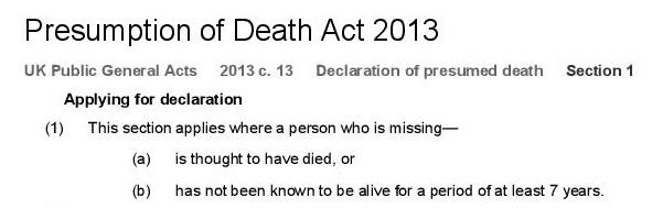 Presumption of Death Act 2013-page-001
