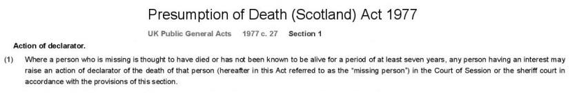 Presumption of Death (Scotland) Act 1977-page-001